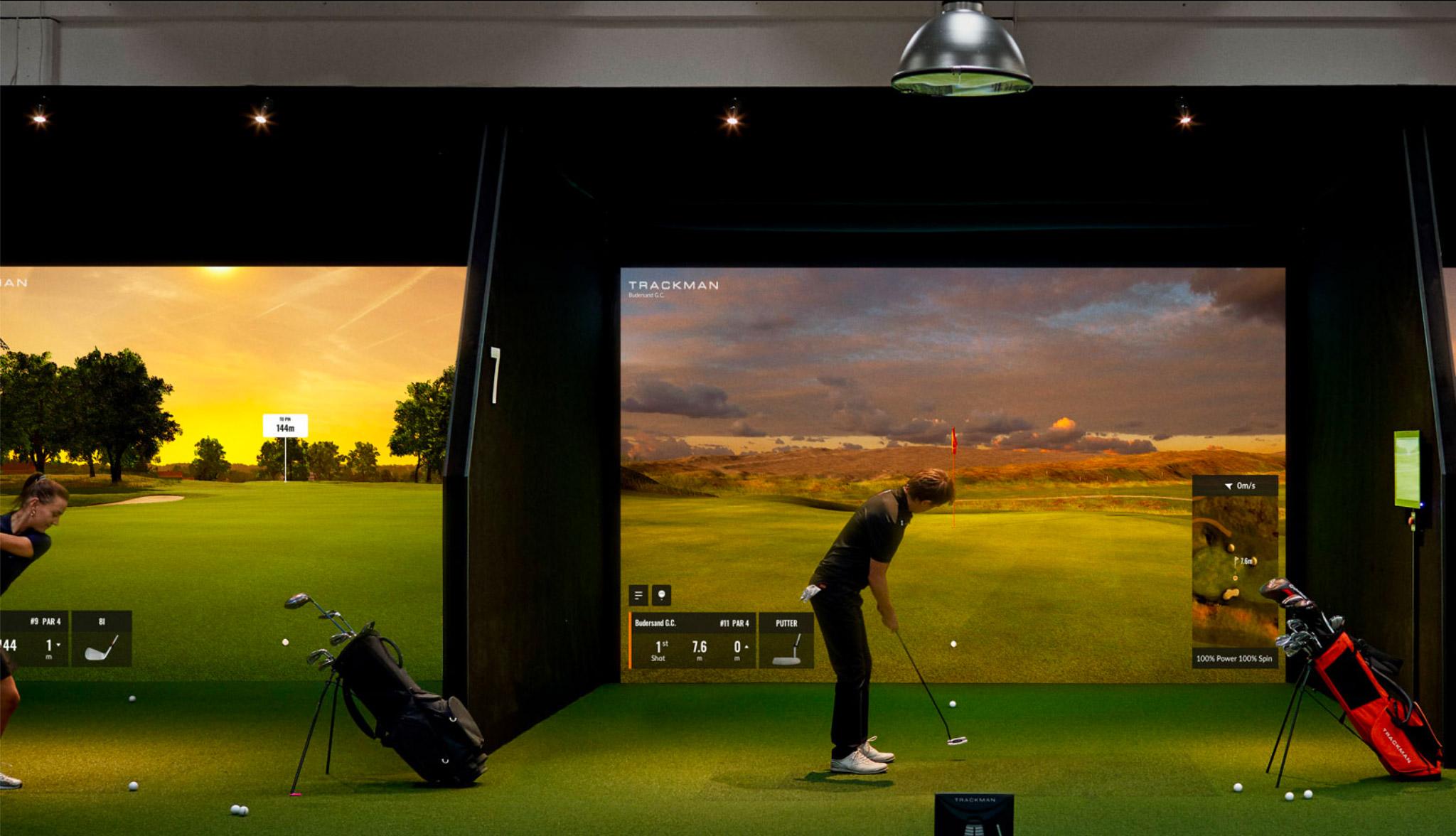 Trackman Golfsimulator